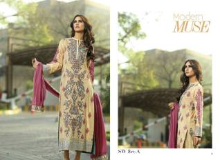 Nation Swiss Lawn Embroidered Summer Dresses 2016 3