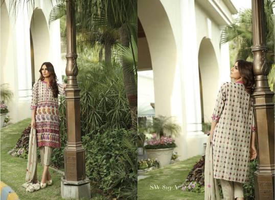 Nation Swiss Lawn Embroidered Summer Dresses 2016 5