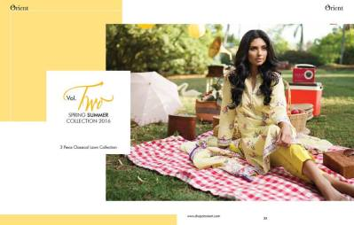 Orient Textiles Summer Lawn Collection Vol-2 2016