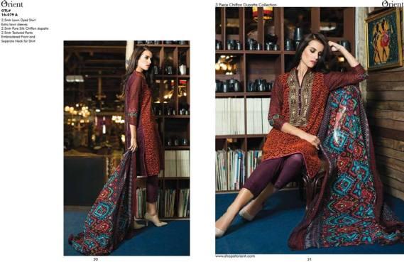 Orient Textiles Summer Lawn Collection Vol-2 2016 8