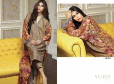 Swiss Lawn Party Wear Dresses Nation By Riaz Arts 2016 8