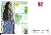 Anum Eid Lawn Dresses Al Zohaib Textiles 2016