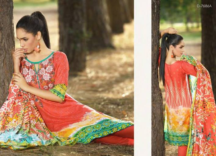 Firdous Lawn Eid Collection