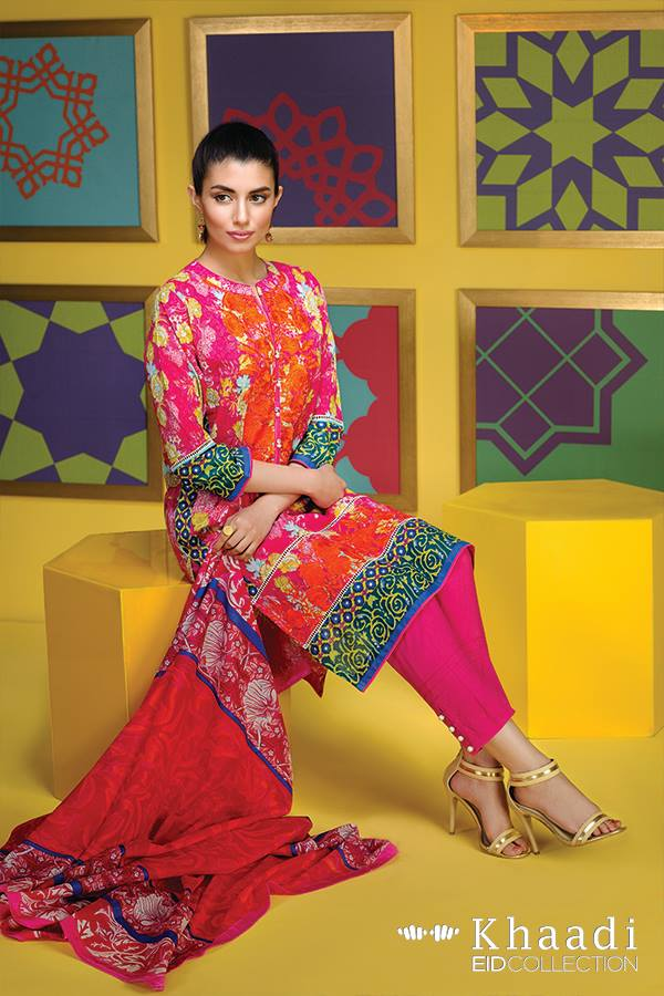 Flower Garden Khaadi Eid Collection