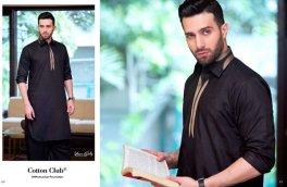 Gul Ahmed Men Eid Shalwar Kameez Collection 2016 2