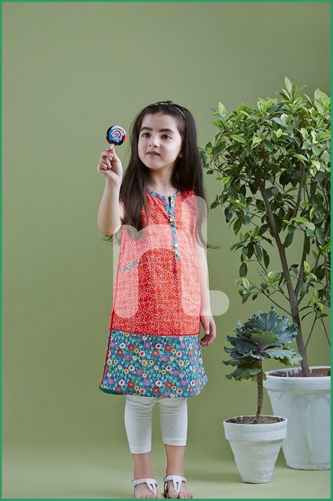 Nishat Linen Kids Eid Wear