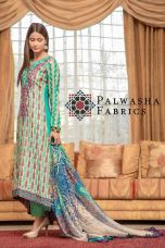 Palwasha Fabrics Eid Dresses Evening Wear 2016 11