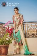 Palwasha Fabrics Eid Dresses Evening Wear 2016