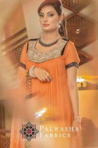 Palwasha Fabrics Eid Dresses Evening Wear 2016 17