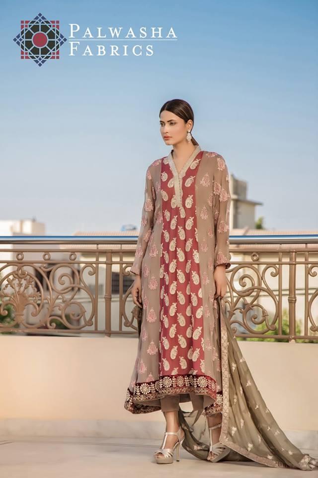 Palwasha Fanrics Eid Dresses