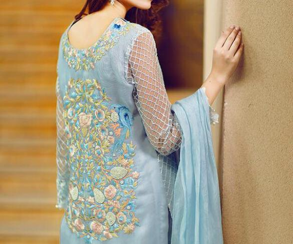 7968ca3da3 Riffat And Sana Eid Party Wear Dresses Summer 2016