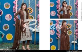 Rujhan Eid Lawn Collection Embroidered Dresses 2016 14