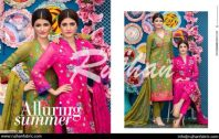 Rujhan Eid Lawn Collection Embroidered Dresses 2016 15
