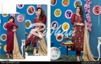 Rujhan Eid Lawn Collection Embroidered Dresses 2016 18