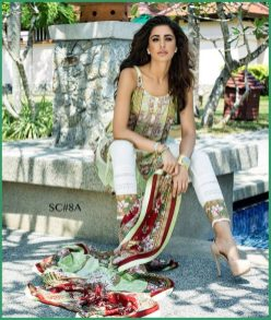 Shehla Chatoor Luxury Lawn Collection Summer 16 4