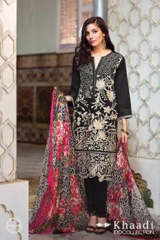 Tropical Paradise Khaadi Eid Lawn Dresses 2016 7