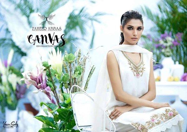 Zaheer Abbas Eid Fancy Dresses