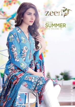 Zeen Summer Lawn Casual Dresses 2016