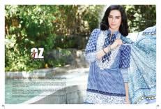 Al Zohaib Mahnoor Eid Lawn Fancy Dresses 2016 7