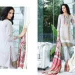 Al Zohaib Mahnoor Eid Lawn Fancy Dresses 2016 9