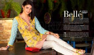 Belle 2 Piece Embroidered Eid Lawn By Charizma 2016 2