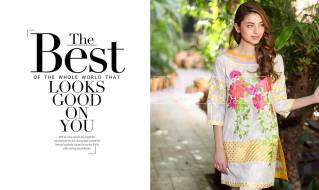 Belle 2 Piece Embroidered Eid Lawn By Charizma 2016 4