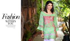 Belle 2 Piece Embroidered Eid Lawn By Charizma 2016 5