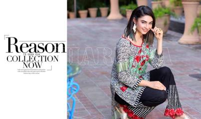 Belle 2 Piece Embroidered Eid Lawn By Charizma 2016 6
