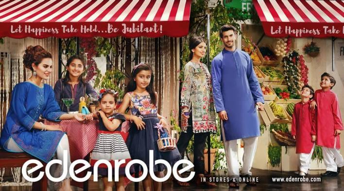 Edenrobe Eid Family Collection Summer 2016