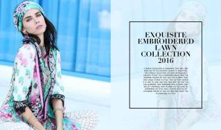 Embroidered Fancy Eid Lawn By Charizma 2016 2