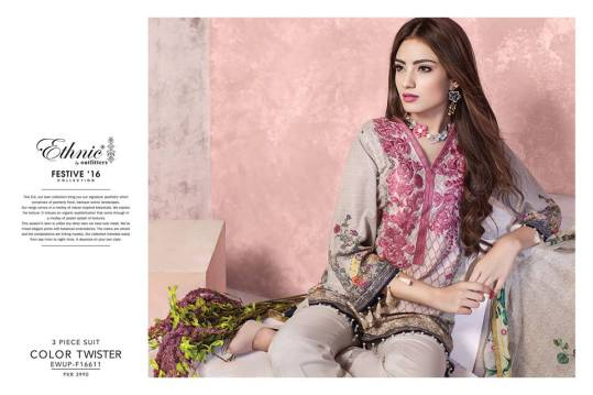 Ethnic Outfitters Luxury Eid Dresses 2016