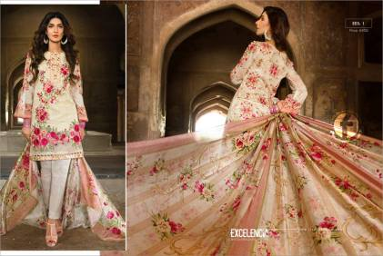 Excelencia Eid Festive Collection By Firdous Cloth Mills 2016 15