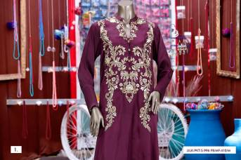 Junaid Jamshed Pret Eid Dresses Colorful Collection 2016 2