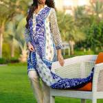 Mahae Embroidered Eid Lawn By Shariq Textiles 2016 7