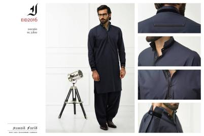 Men Eid Kurta Shalwar By Ismail Farid 2016 10