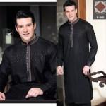 Rivaj Fabrics Men Semi Stitched Eid Collection