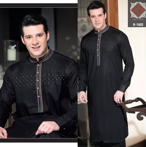 Rivaj Fabrics Men Semi Stitched Eid Collection