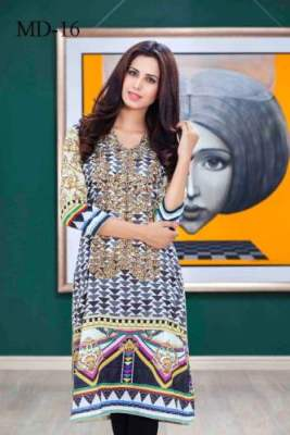 Digital Printed Kurtis Monsoon Collection By Moon Textiles 2016 5