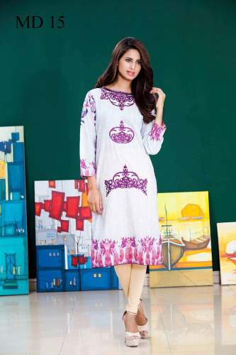 Digital printed Kurtis Monsoon Collection