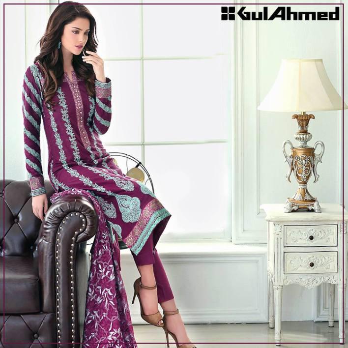 Embroidered Chiffon Pret Eid Dresses