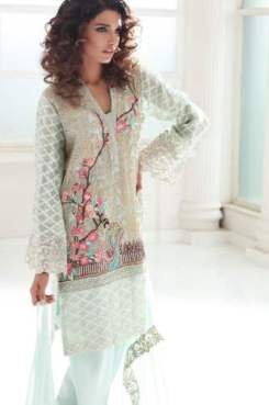Embroidered Luxury Pret Collection By IVY 2016