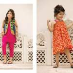 Kayseria Eid Kids Wear Little Girls Dresses 2016 5