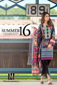 Mausummery Summer Lawn Monsoon Collection 2016
