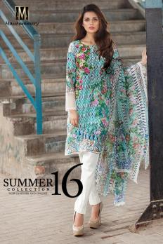 Mausummery Summer Lawn Monsoon Collection 2016 5