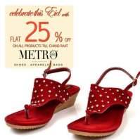 Metro Shoes Eid Footwear For Women 2016 7