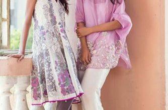 Nida Azwer Luxury Pret Eid Dresses Summer 2016