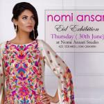 Nomi Ansari Eid Formal Wear Summer 2016