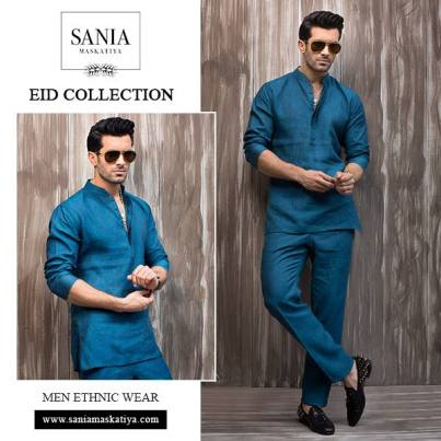 Sania Maskatiya Eid Men Kurta Collection 2016 5