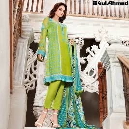 Trencia Satin Silk Eid Collection Gul Ahmed 2016 3