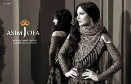 Asim Jofa Luxury Embroidered Chiffon Dresses 2016-17 14